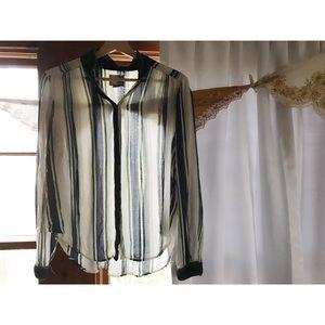 Anthropologie Shirt Maeve Button Down Shirt Anthro